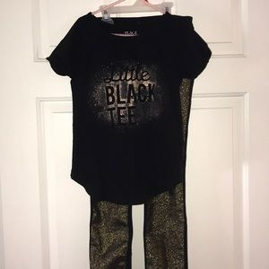 Girl's Jeggings Outfit Size 7/8